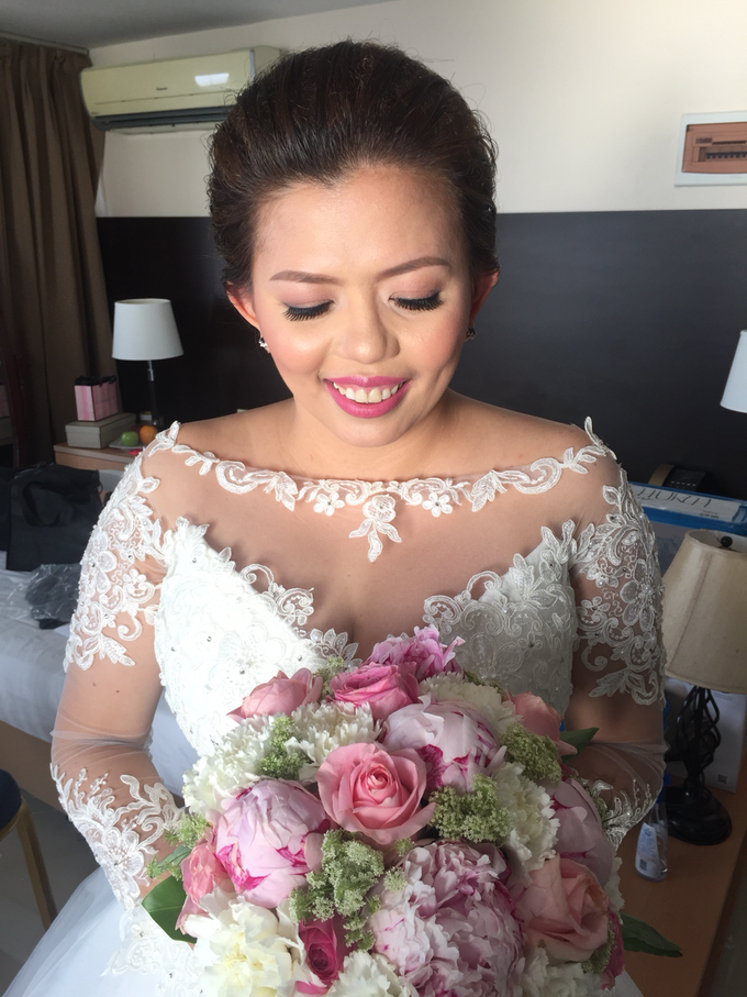 Bride: Karina Daluz by Ayen Carmona Make Up Artist - 004