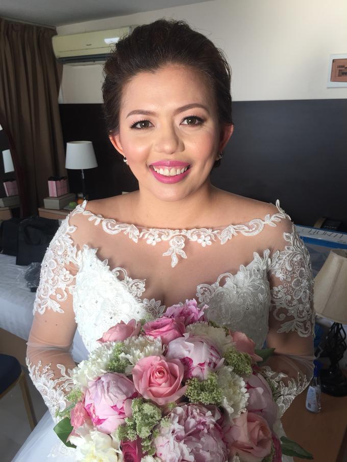 Bride: Karina Daluz by Ayen Carmona Make Up Artist - 003