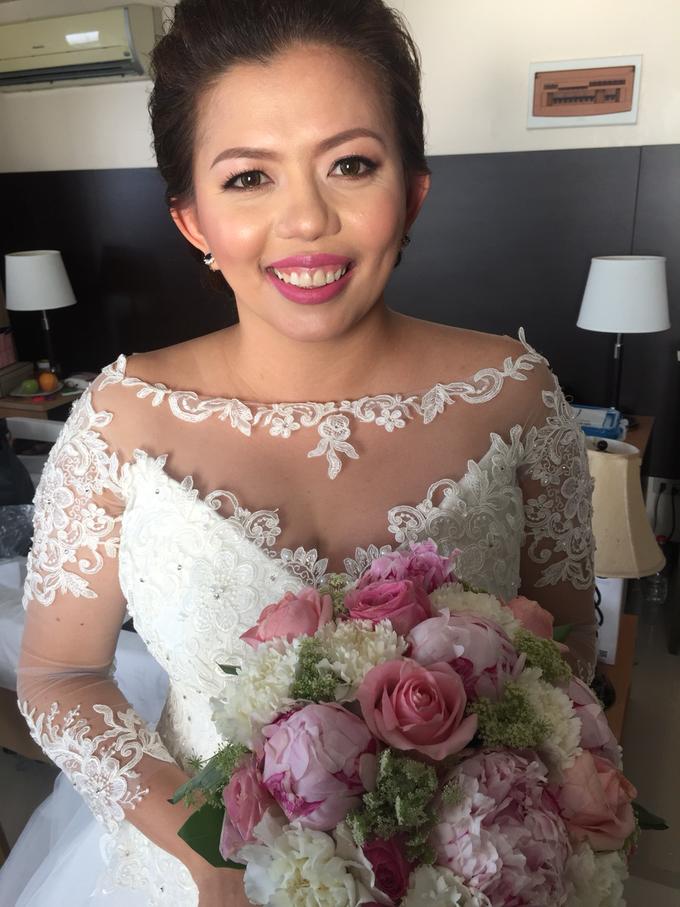 Bride: Karina Daluz by Ayen Carmona Make Up Artist - 006