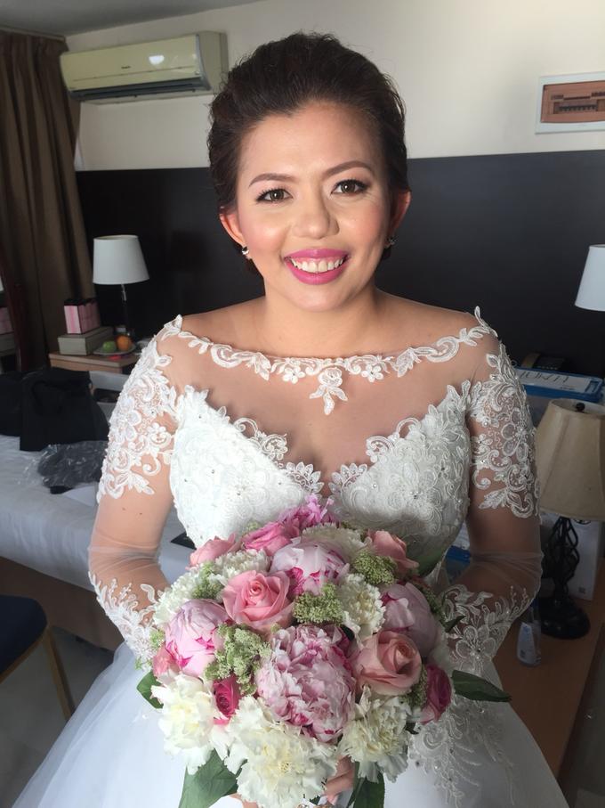 Bride: Karina Daluz by Ayen Carmona Make Up Artist - 007