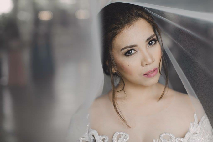 Marielle and Angelo wedding by Ayen Carmona Make Up Artist - 004