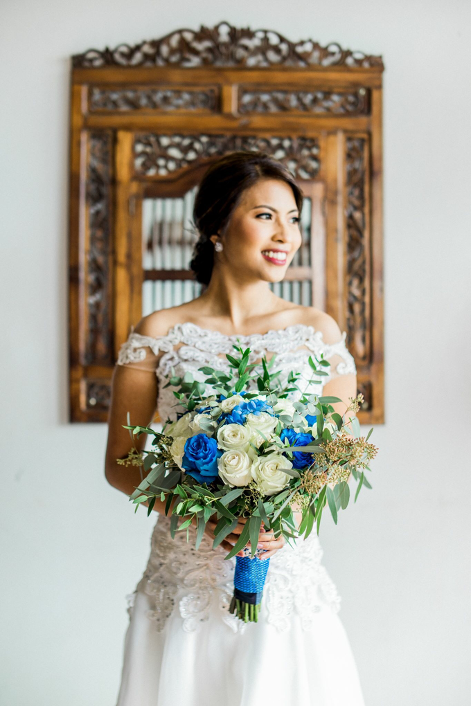 Eunice and Jason wedding by Ayen Carmona Make Up Artist - 007