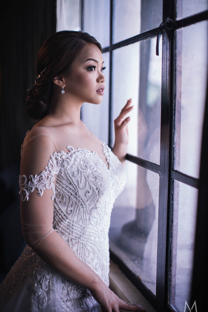 Thea and Pierre nuptial by Ayen Carmona Make Up Artist - 032