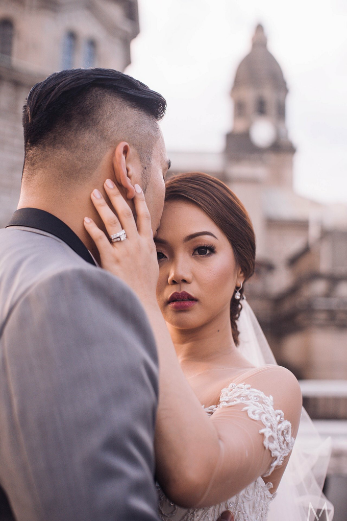 Thea and Pierre nuptial by Ayen Carmona Make Up Artist - 034