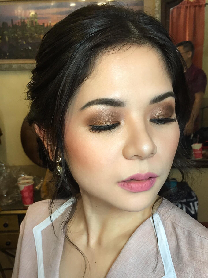 Pre nup for our bride Ms. Barbie by Ayen Carmona Make Up Artist - 005