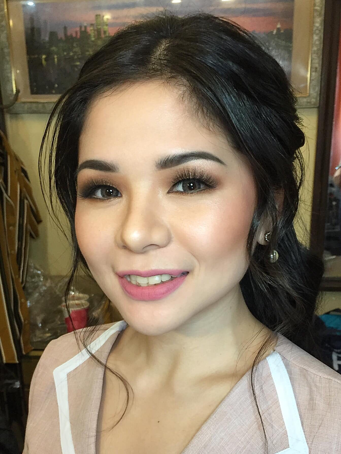 Pre nup for our bride Ms. Barbie by Ayen Carmona Make Up Artist - 007