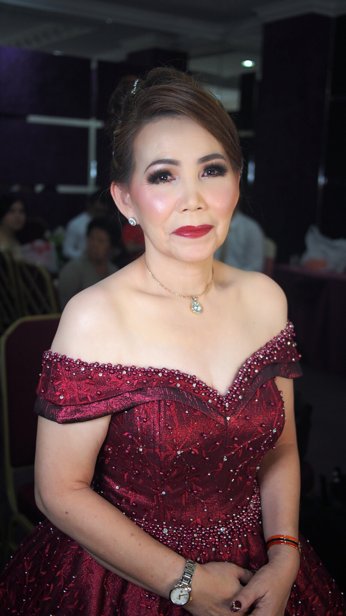 Mother of Groom - Night Look by ayrin makeup - 001