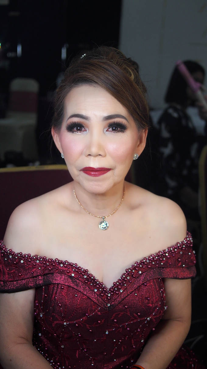 Mother of Groom - Night Look by ayrin makeup - 002