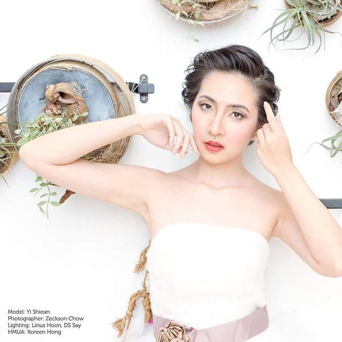 Natural Korean Bridal Look by Beautistylebykoreen - 001
