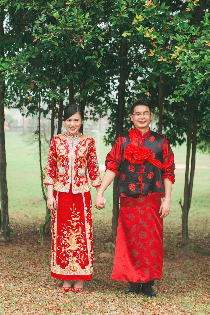 Wedding ceremony by The Wedding Barn Gallery - 027