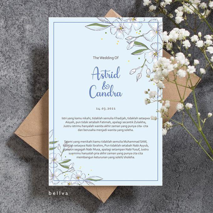 Astrid & Candra by Bellva Invitation - 002