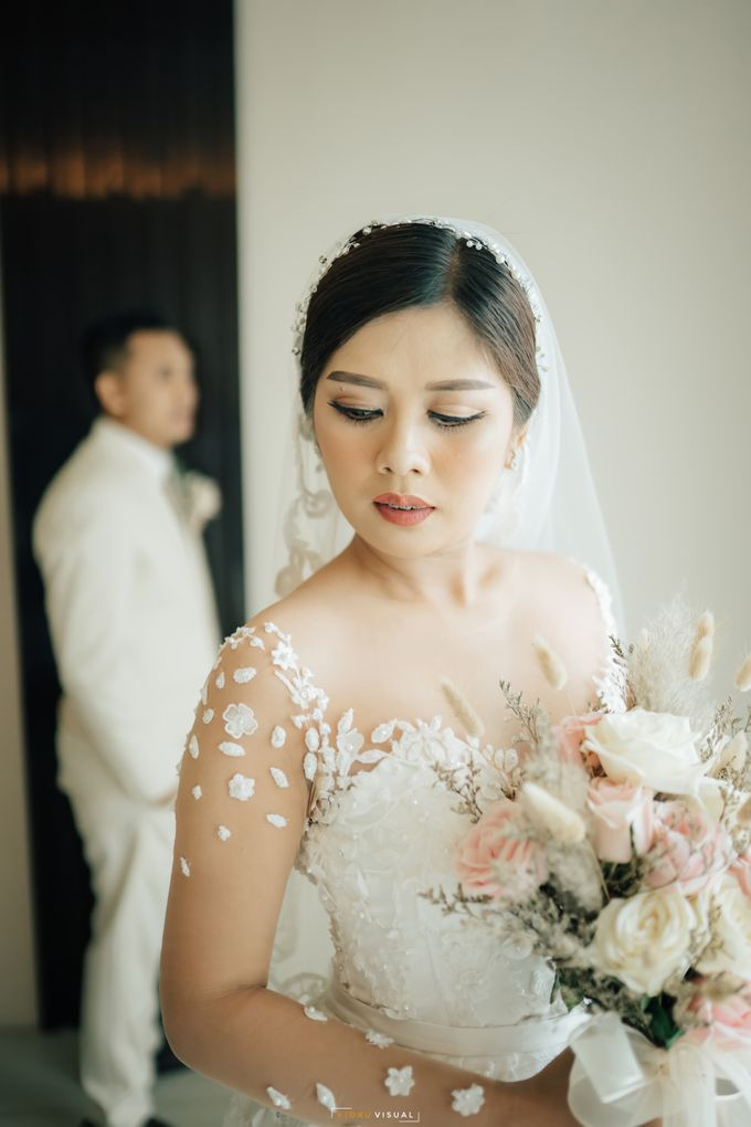 The Wedding Of Christian and Claudia by Kate Bridal and Couture - 002
