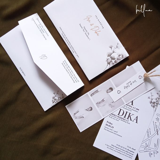 Rustic Wedding Invitation by Bellva Invitation - 002