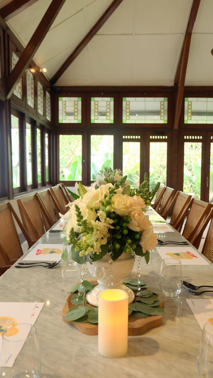 Kompasiana Taste of Macao Table Decoration - NUSA Indonesian Gastronomy 14 Juli 2018 by FIORE & Co. Decoration - 002