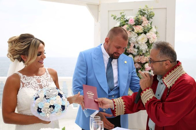 Mica & Ross British wedding by Wedding City Antalya - 015