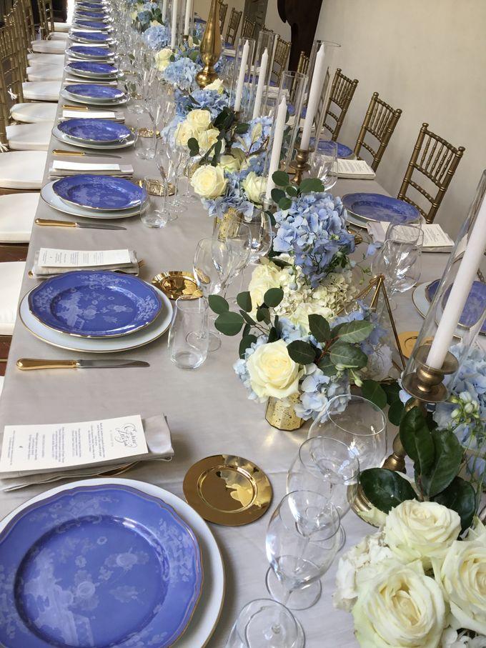 A blue wedding by C&G Wedding and Event Designer - 002