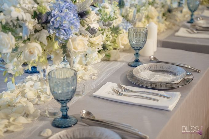 Wedding decoration Bliss events x Weddingism China at Conrad Koh Samui by Conrad Koh Samui - 010