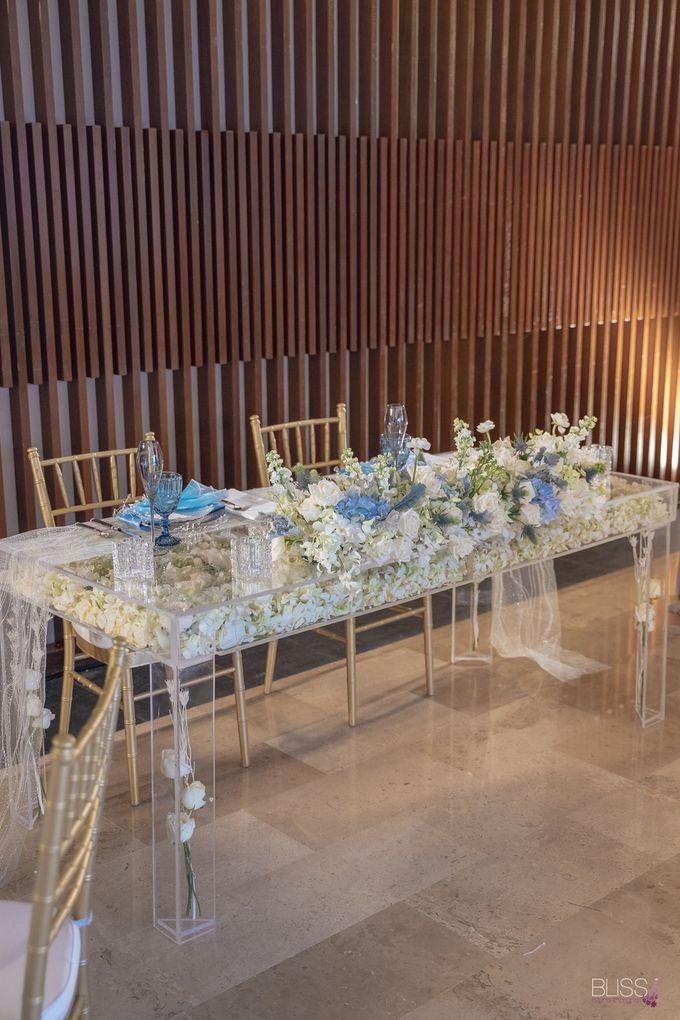 Wedding decoration Bliss events x Weddingism China at Conrad Koh Samui by Conrad Koh Samui - 012