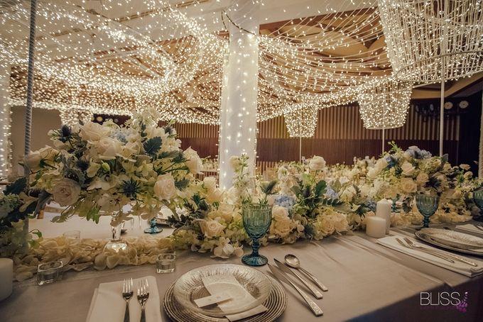 Wedding decoration Bliss events x Weddingism China at Conrad Koh Samui by Conrad Koh Samui - 016