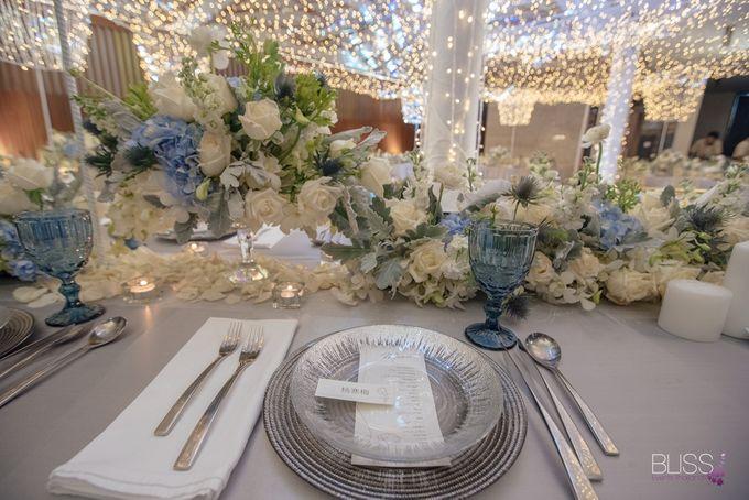 Wedding decoration Bliss events x Weddingism China at Conrad Koh Samui by Conrad Koh Samui - 017
