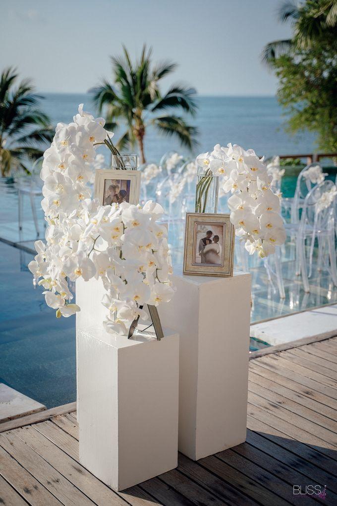 Wedding decoration Bliss events x Weddingism China at Conrad Koh Samui by Conrad Koh Samui - 001