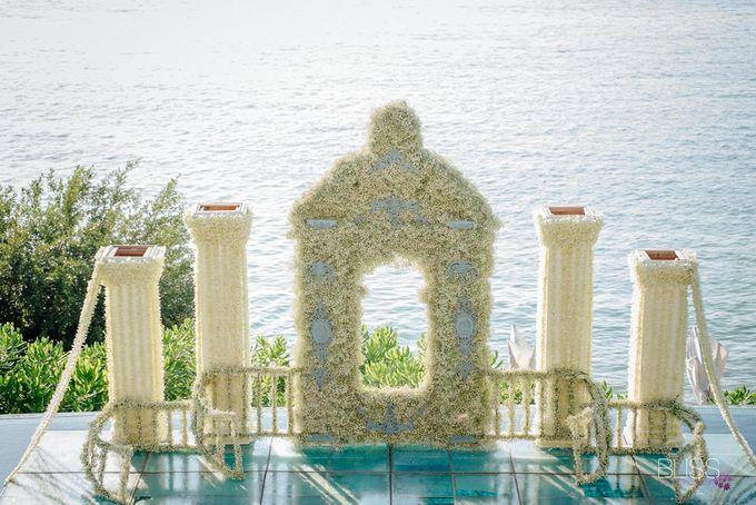 Wedding decoration Bliss events x Weddingism China at Conrad Koh Samui by Conrad Koh Samui - 002