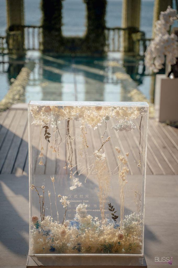 Wedding decoration Bliss events x Weddingism China at Conrad Koh Samui by Conrad Koh Samui - 007