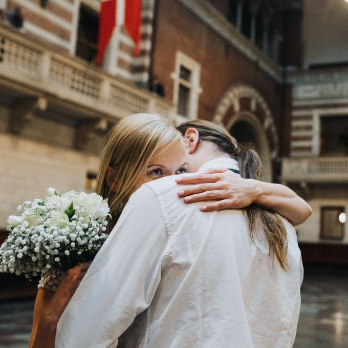 Copenhagen Elopement/Copenhagen City hall wedding by Renee Song Photography - 006