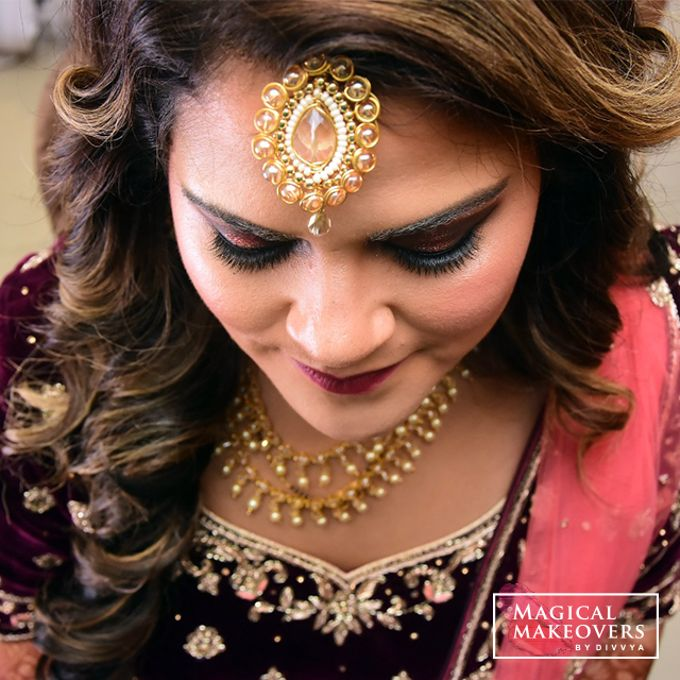 Bridal Portfolio by Magical Makeovers By Divvya - 003