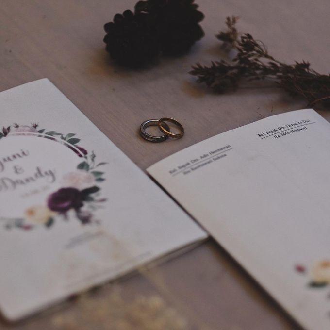 Wedding Invitation Flower Yuni & Dandy by Sae Creative - 005