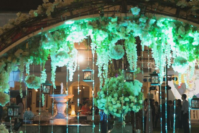 Garden Wedding of Ricky & Inggrid by All Occasions Wedding Planner - 010
