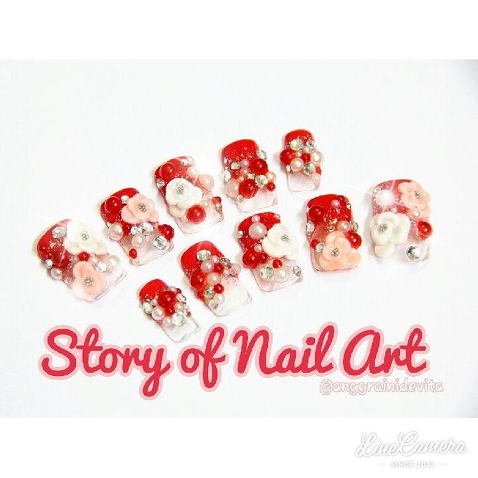 Fake Nails by Story of Nailart - 004