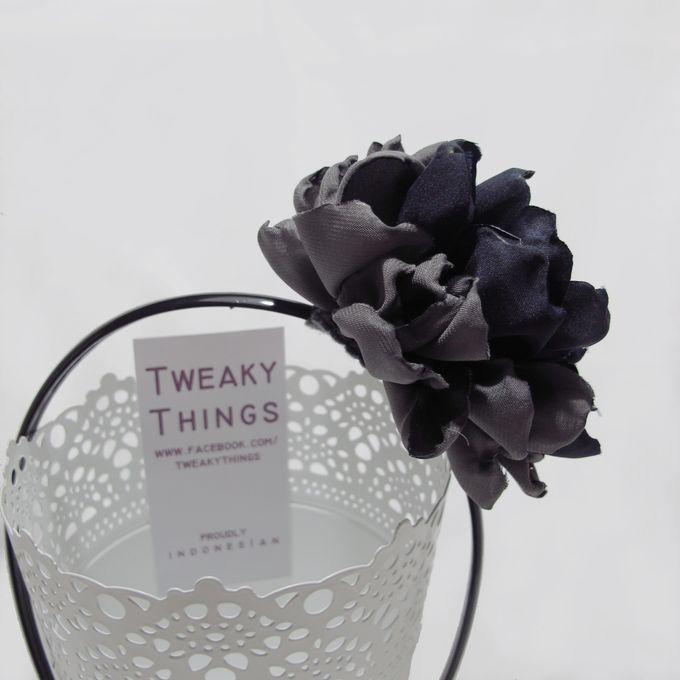 Fabric flower - Headband by TweakyThings - 004