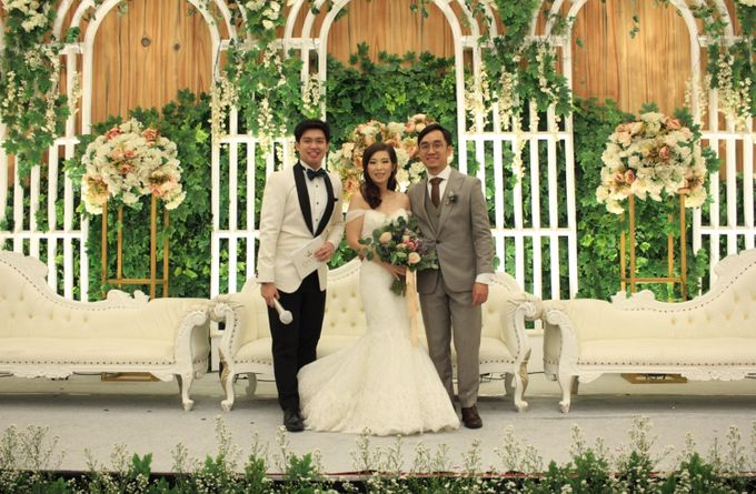MC Wedding Menara Mandiri Jakarta - Anthony Stevven by IKK Wedding Planner - 010