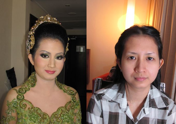 Before - After MakeUp & Hair Do by Andiyanto Salon - 004