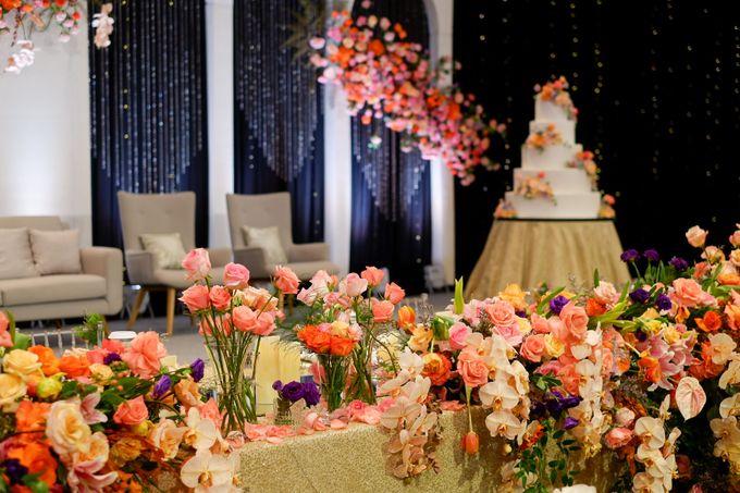 The Wedding of Hubert and Silvia by AYANA Midplaza JAKARTA - 018