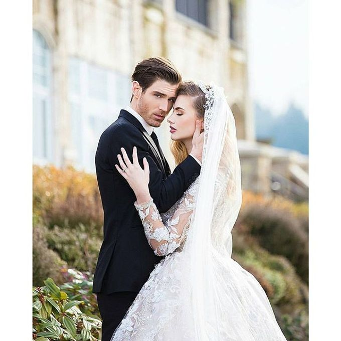 New Castle Wedding by MeaMarie Bridal Atelier - 005