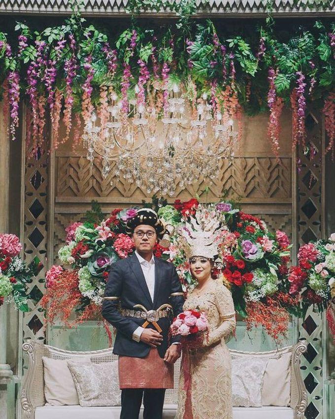 XXI Ballroom -  Mandailing Wedding Reception of Iman & Dira by Dikaderadjat - 005