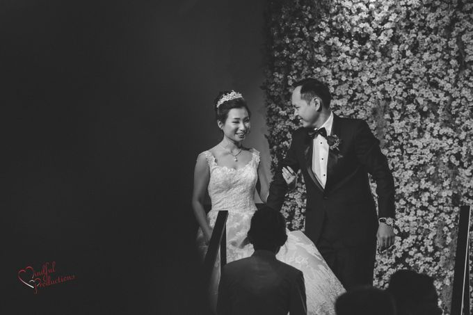 Actual Day Wedding Day Singapore by Conrad Centennial Singapore - 003