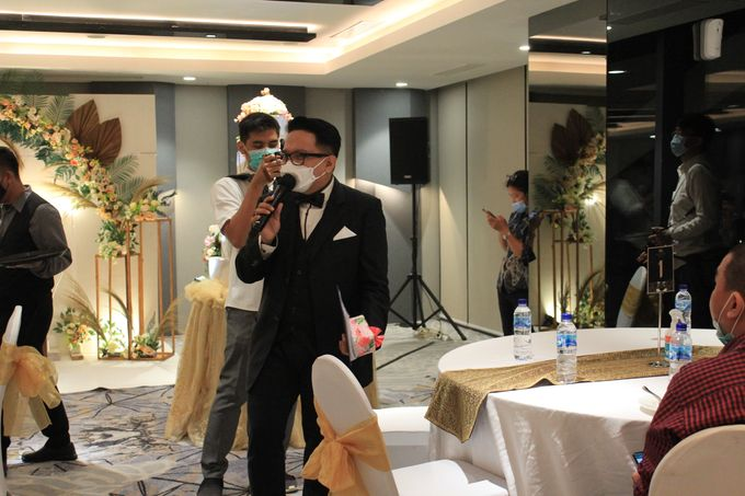 MC Wedding Double V Entertainment at JHL Solitaire Serpong by Double V Entertainment - 021