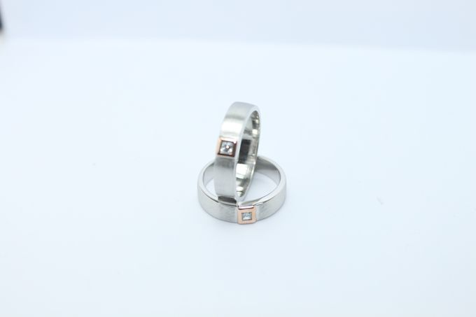 wedding ring simple Design by V&Co Jewellery - 013