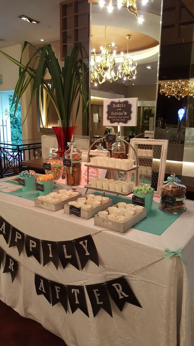 Hedric and Serene by The Lair Weddings Candy Bar - 005