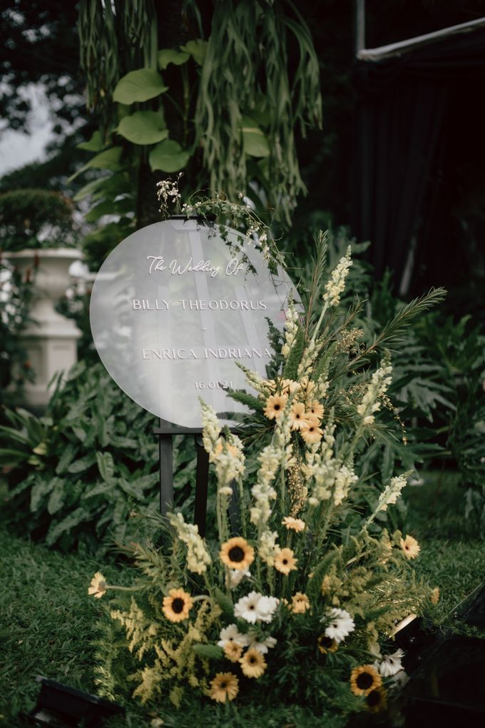 Enrica & Billy Wedding by Priscilla Myrna - 022