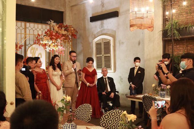 MC Wedding Intimate at Blue Jasmine Jakarta - Anthony Stevven by Anthony Stevven - 016