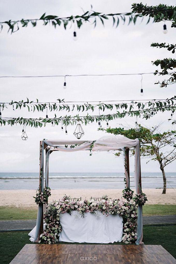 Beachfront Wedding at Sofitel Bali by WiB flowers - 001