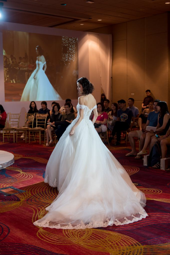 Bridal Gown Fashion Show At Mandarin Orchard Singapore by La Belle Couture Weddings Pte Ltd - 005