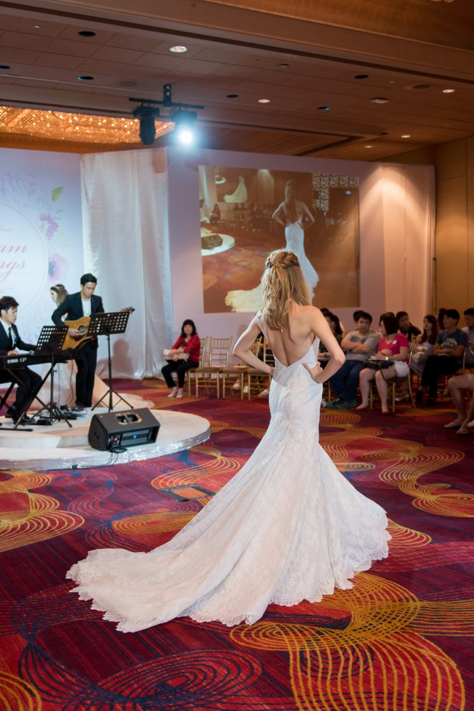 Bridal Gown Fashion Show At Mandarin Orchard Singapore by La Belle Couture Weddings Pte Ltd - 006