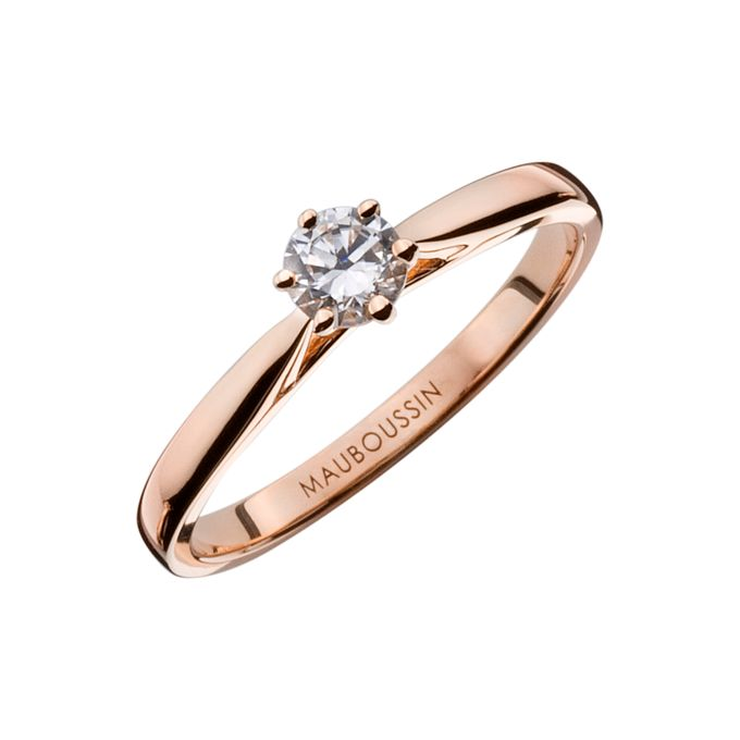 Six de Toi engagement rings by MAUBOUSSIN - 001