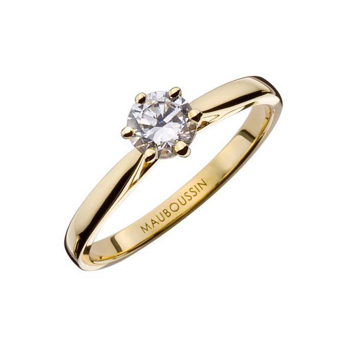 Six de Toi engagement rings by MAUBOUSSIN - 002