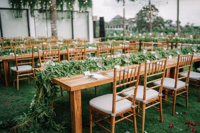 Tropical Green Glam by Louloudi Wedding & Events Stylist - 008